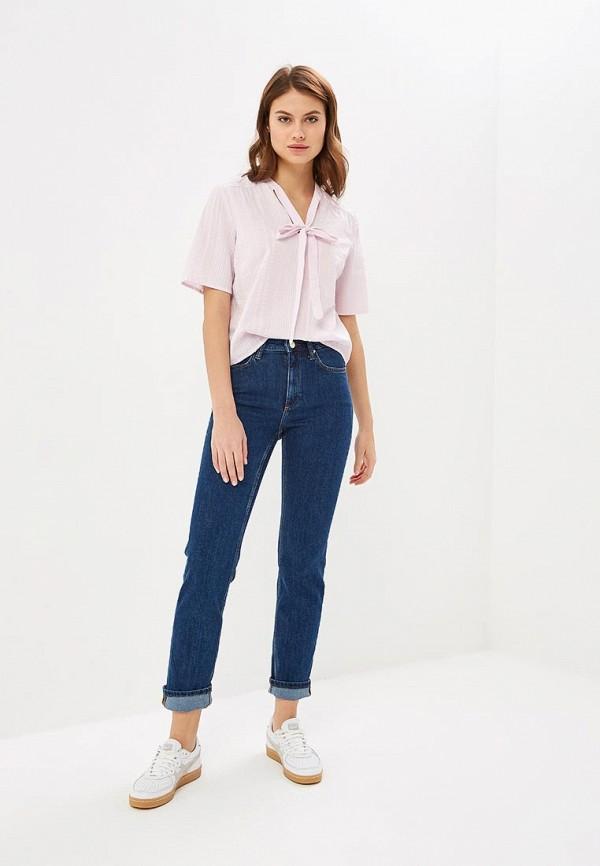 Фото 2 - женскую блузку Vila фиолетового цвета