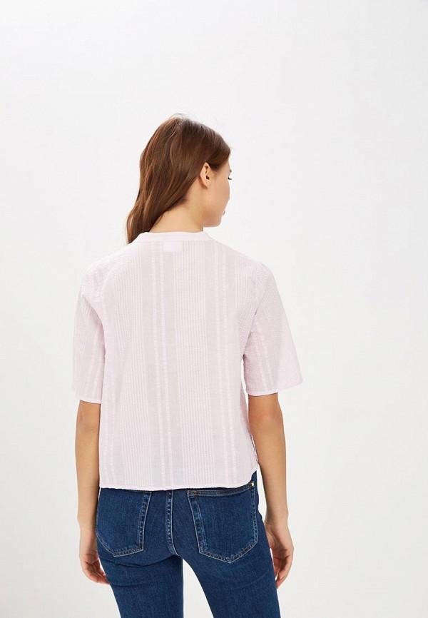 Фото 3 - женскую блузку Vila фиолетового цвета