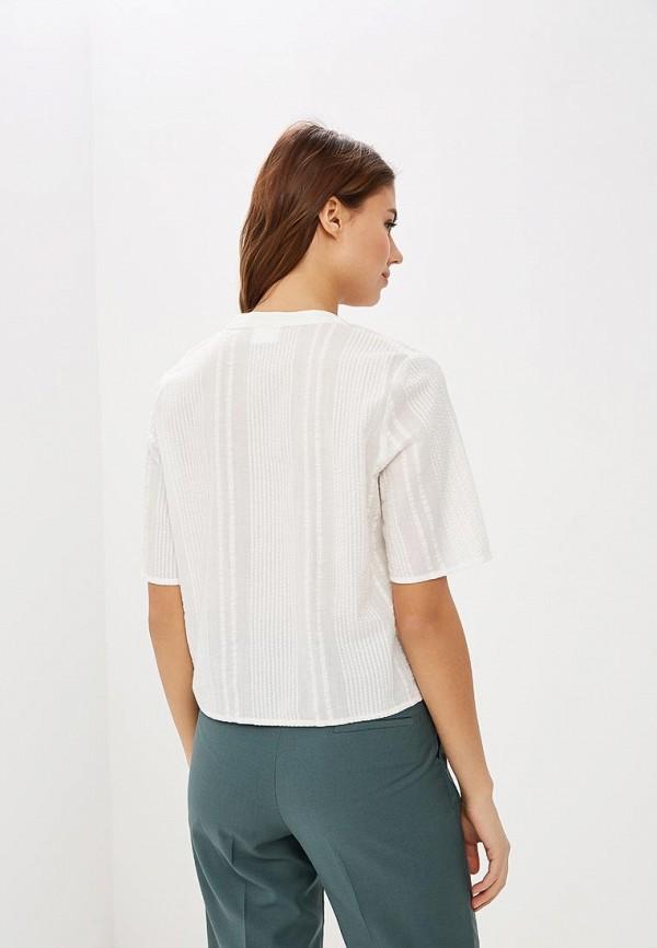 Фото 3 - женскую блузку Vila белого цвета