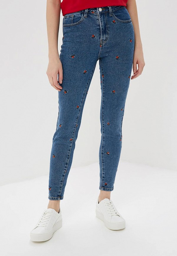 женские джинсы vila, синие