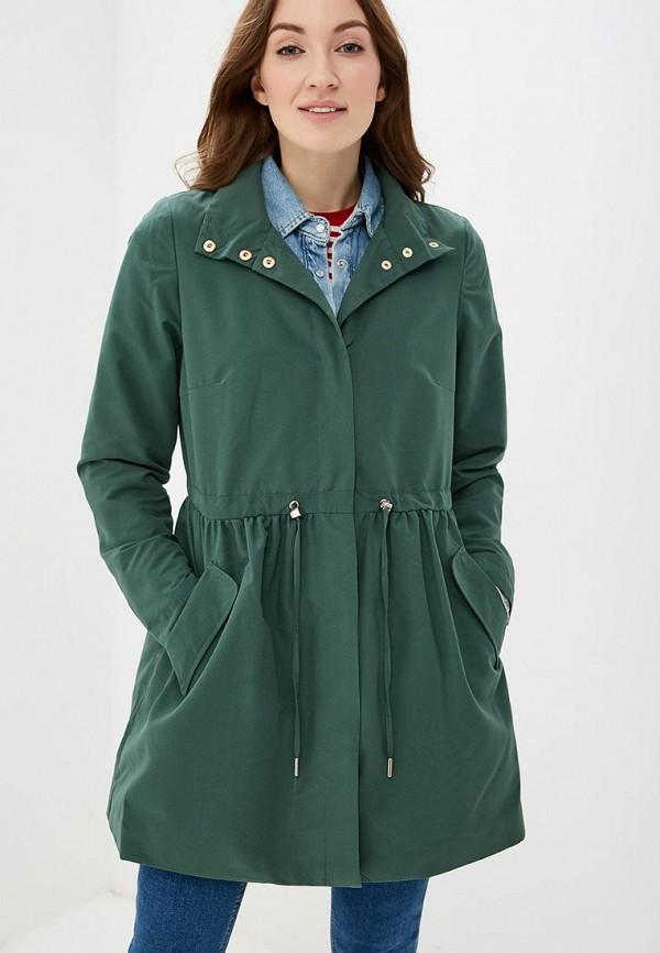 женский плащ vila, зеленый