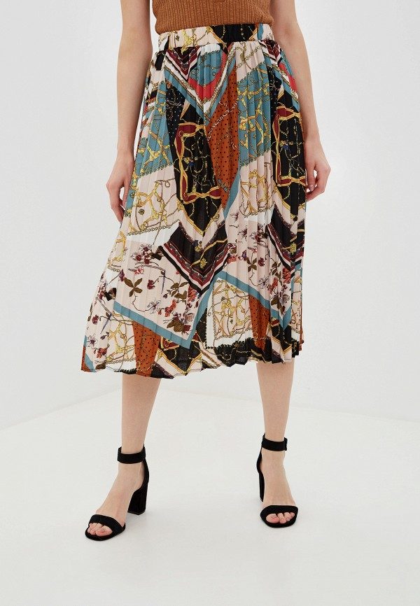 женская юбка vila, разноцветная