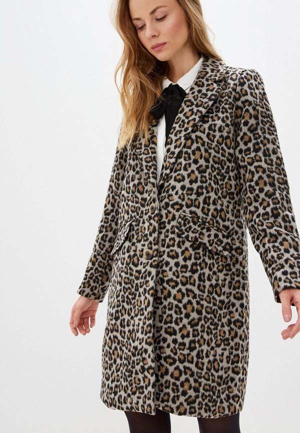 женское пальто vila, серое