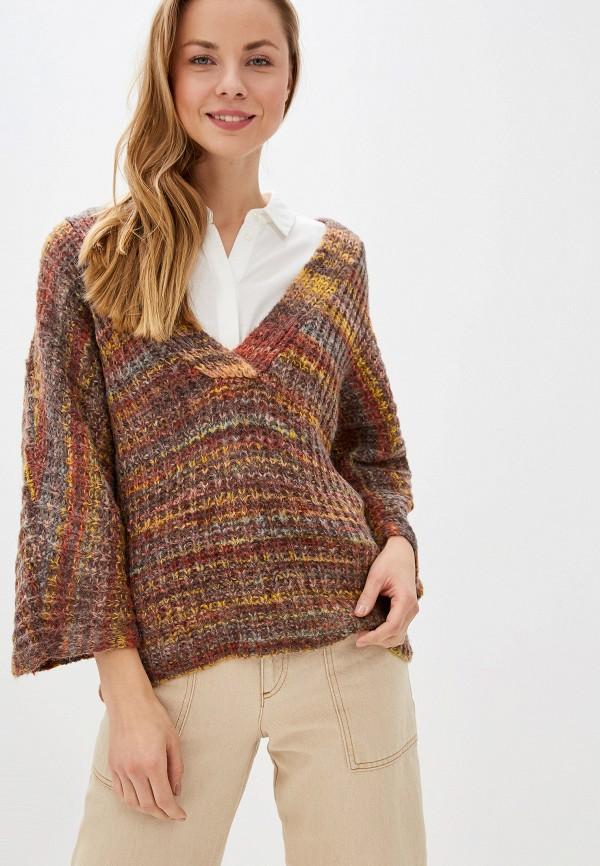 женский пуловер vila, разноцветный