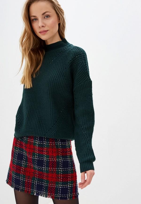 женский свитер vila, зеленый