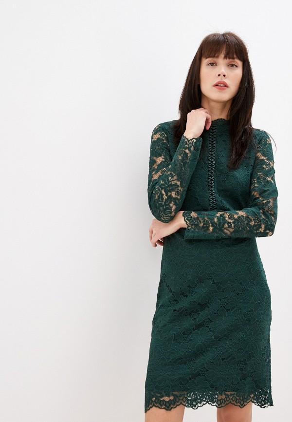 женское повседневные платье vila, зеленое