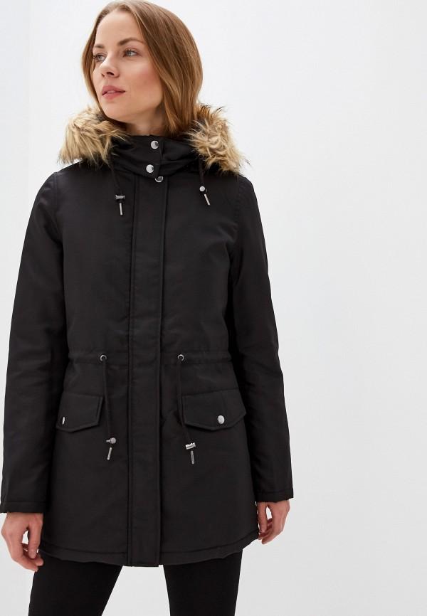 женская куртка vila, черная
