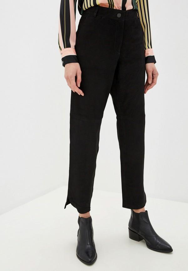 женские брюки vila, черные