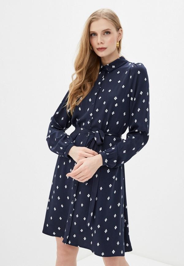 женское платье vila, синее