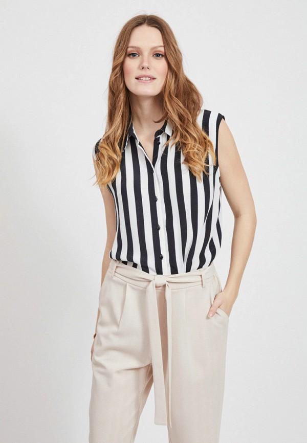 женская блузка vila, разноцветная
