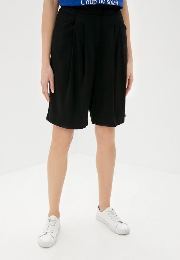женские повседневные шорты vila, черные