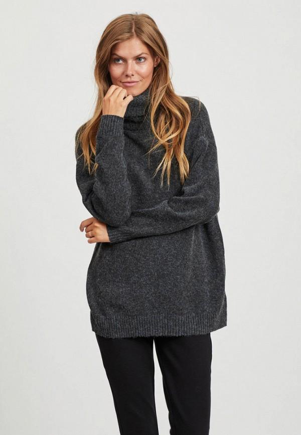 женский свитер vila, серый