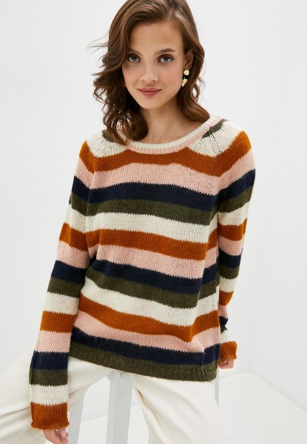 женский джемпер vila, разноцветный