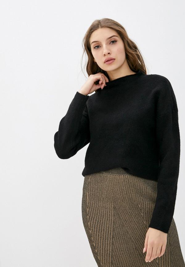 женский джемпер vila, черный