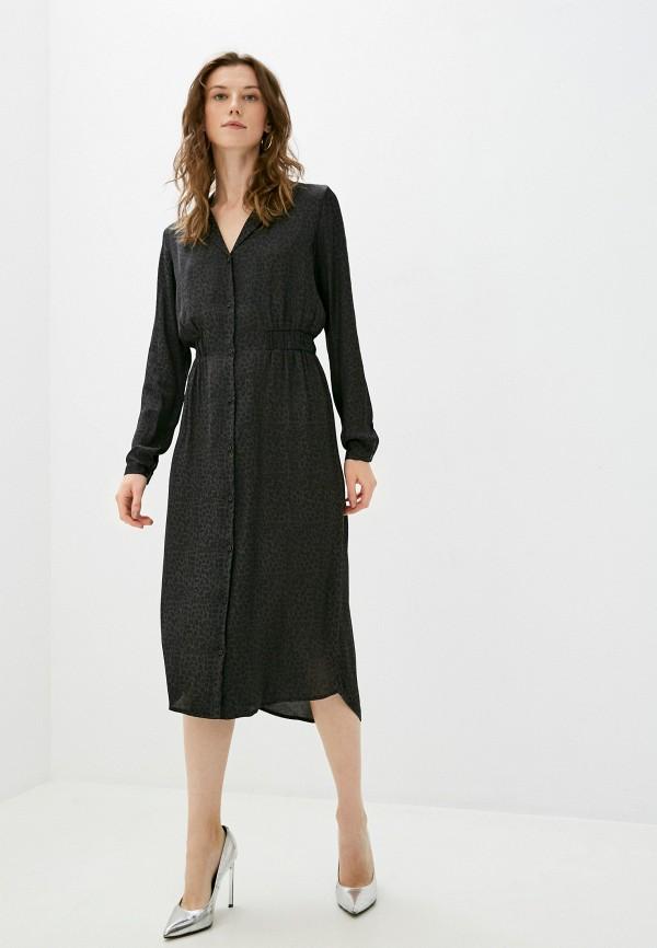 женское повседневные платье vila, черное
