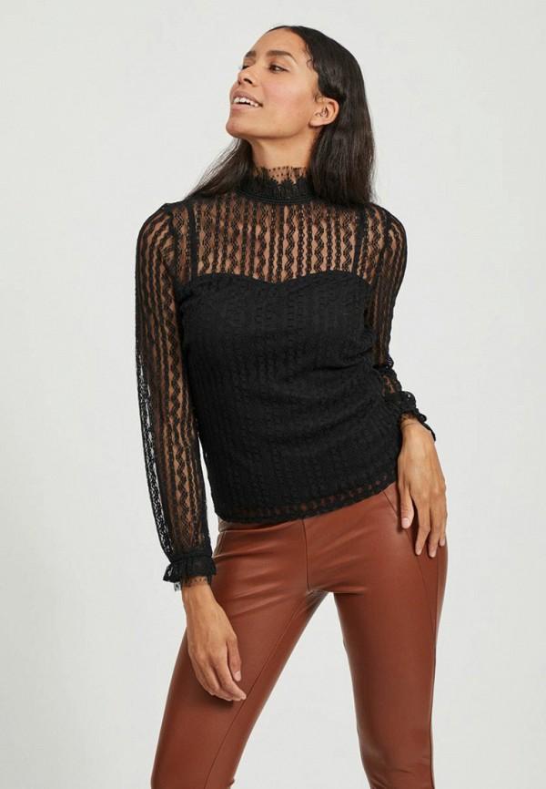 женская блузка vila, черная