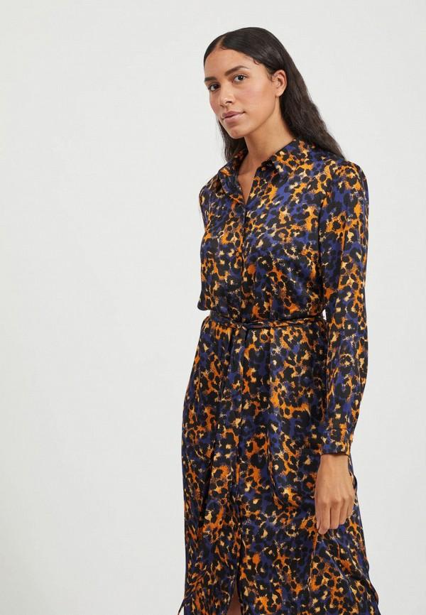 женское платье vila, разноцветное