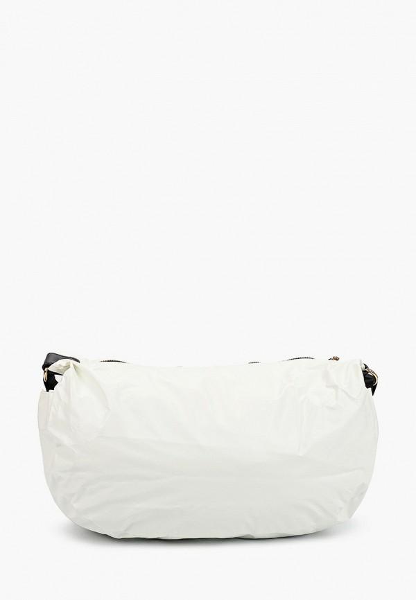 женская сумка violeta by mango, белая