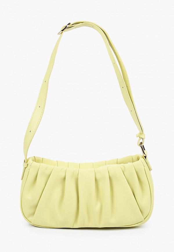 женская сумка violeta by mango, зеленая