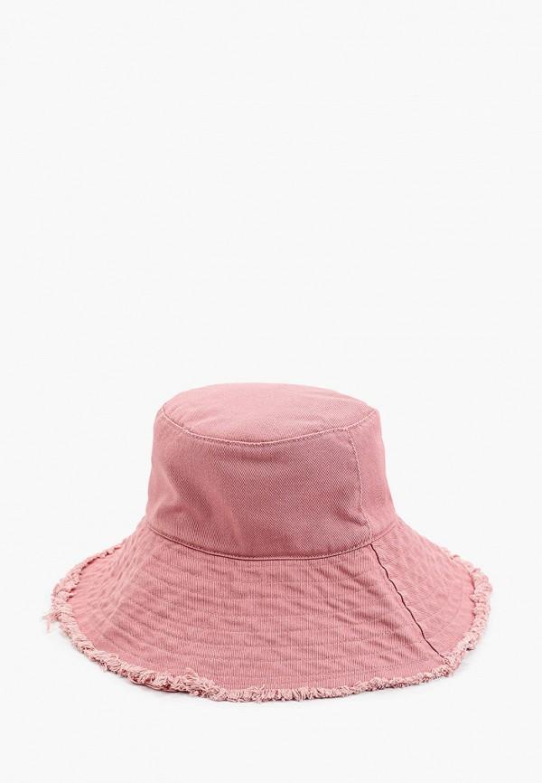 женская шляпа violeta by mango, розовая