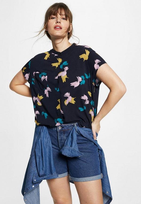 Блуза Violeta by Mango Violeta by Mango VI005EWBGYF6 блуза violeta by mango violeta by mango vi005ewwyi46