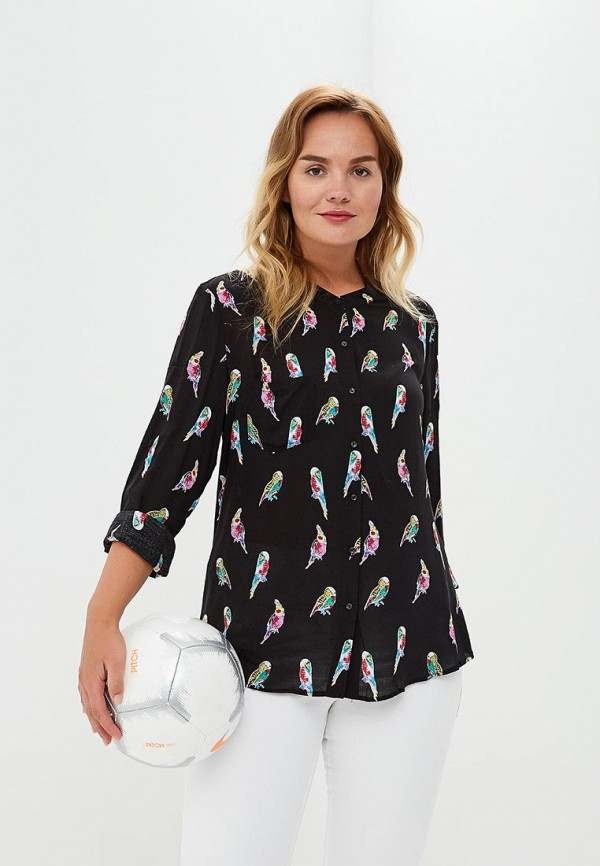 Купить Блуза Violeta by Mango, - MAOS3, VI005EWBSJG8, черный, Осень-зима 2018/2019