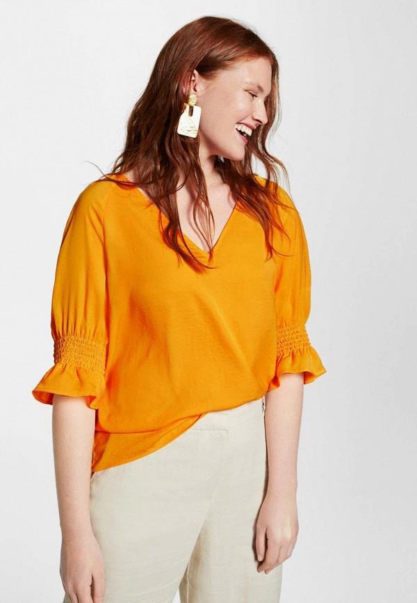 Блуза Violeta by Mango Violeta by Mango VI005EWBWOK4 цены онлайн