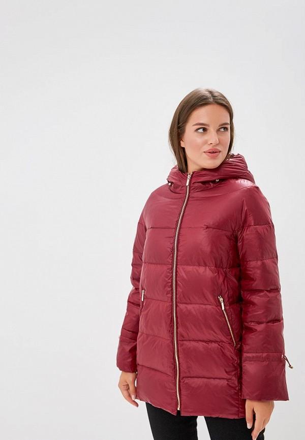 Купить Пуховик Violeta by Mango, - SOHO3, VI005EWCGJM3, бордовый, Осень-зима 2018/2019