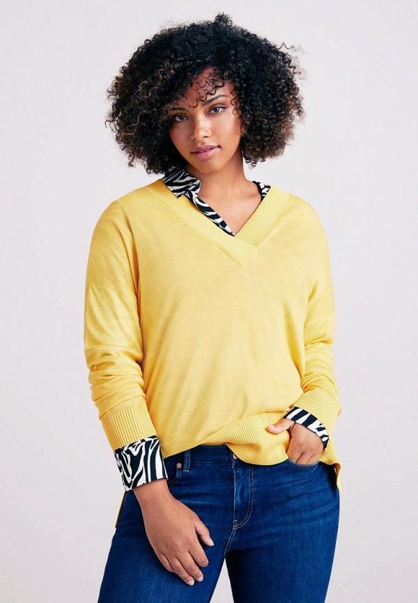 Купить Пуловер Violeta by Mango, - LIZY, VI005EWCQPP1, желтый, Осень-зима 2018/2019