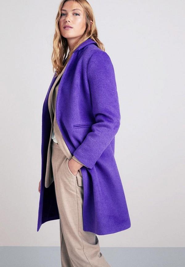 Купить Пальто Violeta by Mango, - FOREST2, vi005ewdeeo7, фиолетовый, Весна-лето 2019