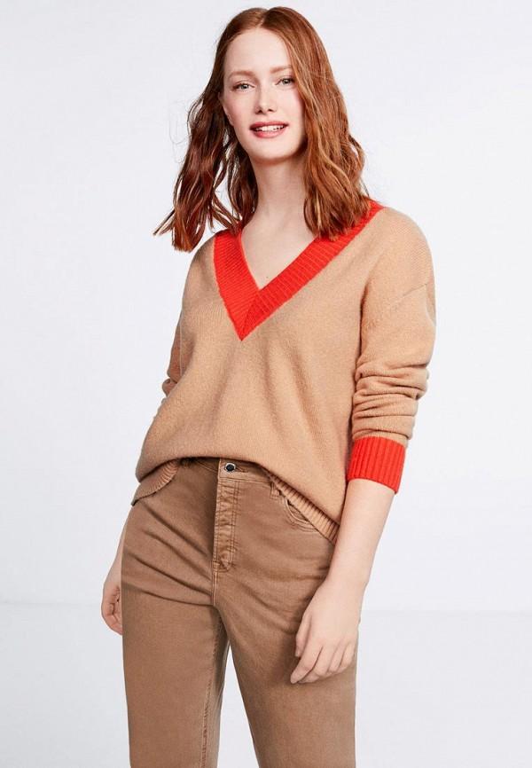 Пуловер Violeta by Mango Violeta by Mango VI005EWEUDH8 violeta by mango women s leather cord blouse