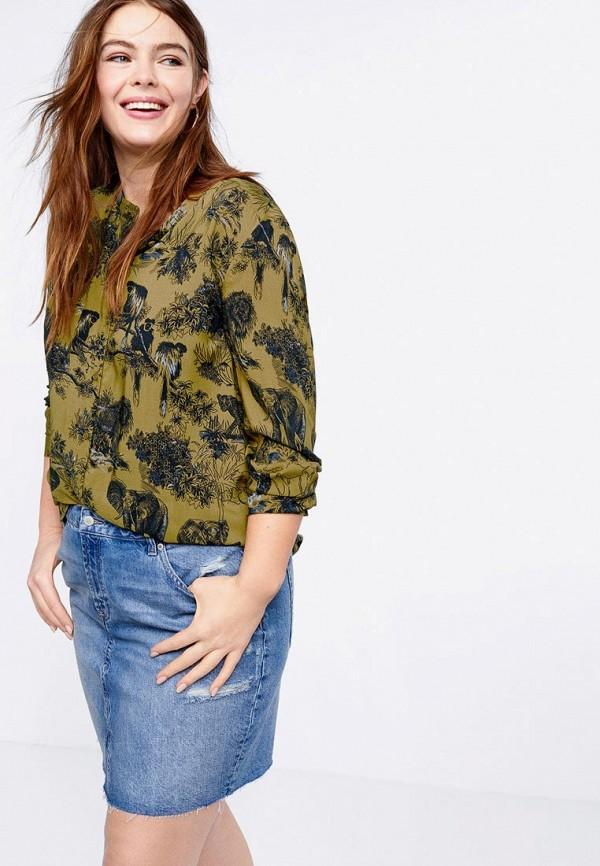 Блуза Violeta by Mango Violeta by Mango VI005EWEUEF4 недорго, оригинальная цена