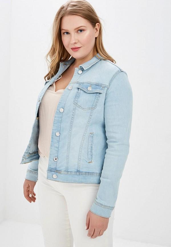 Куртка джинсовая Violeta by Mango Violeta by Mango VI005EWEUET8 недорго, оригинальная цена