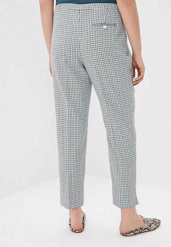 Фото 3 - женские брюки Violeta by Mango зеленого цвета