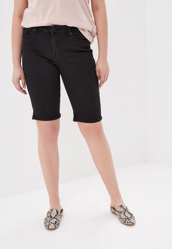 Фото - Шорты джинсовые Violeta by Mango черного цвета