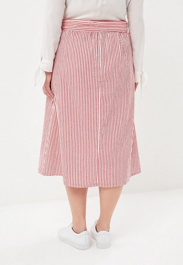 Фото 3 - женскую юбку Violeta by Mango красного цвета