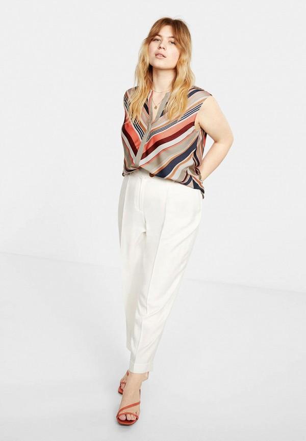Фото 2 - женскую блузку Violeta by Mango разноцветного цвета