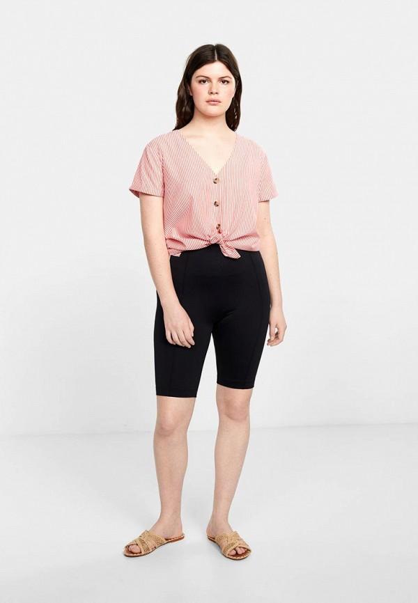 Фото 2 - женскую блузку Violeta by Mango розового цвета