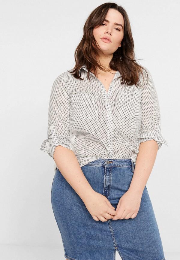 Купить женскую блузку Violeta by Mango белого цвета
