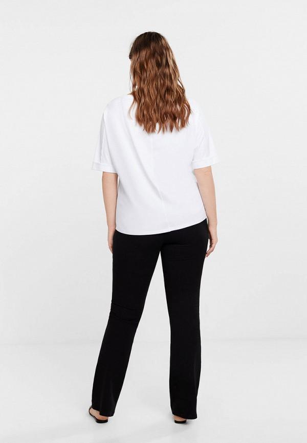 Фото 3 - женскую футболку Violeta by Mango белого цвета