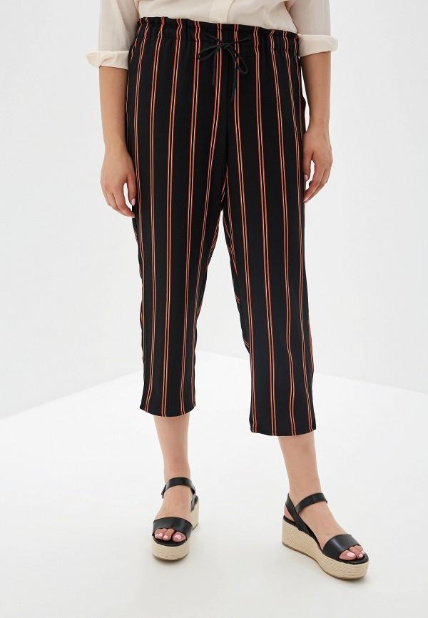 женские брюки violeta by mango, черные