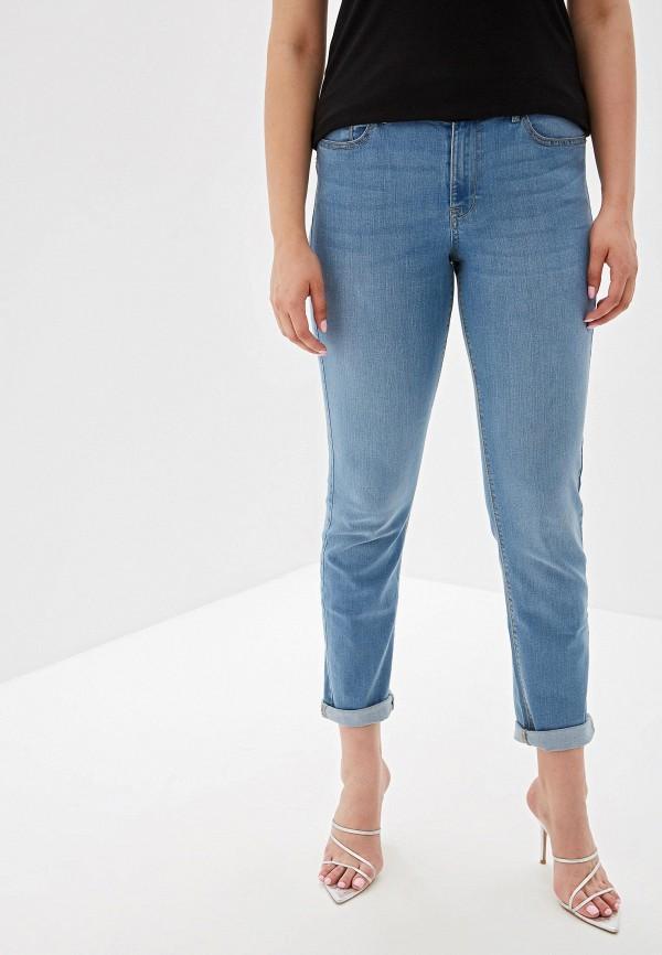 женские джинсы violeta by mango, голубые