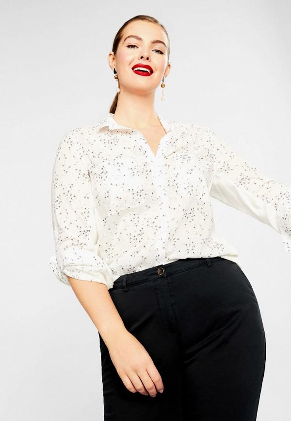 Купить женскую рубашку Violeta by Mango белого цвета
