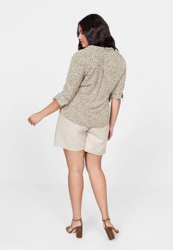 Фото 3 - женскую блузку Violeta by Mango серого цвета