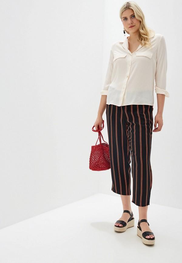 Фото 2 - женскую блузку Violeta by Mango бежевого цвета