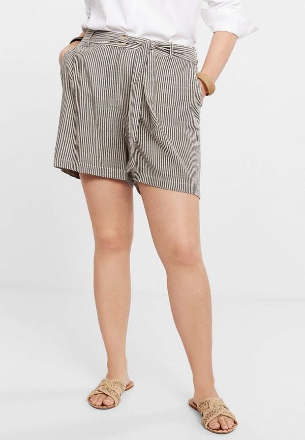 Купить женские шорты Violeta by Mango серого цвета