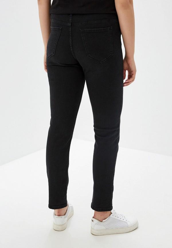 Фото 3 - женские джинсы Violeta by Mango черного цвета