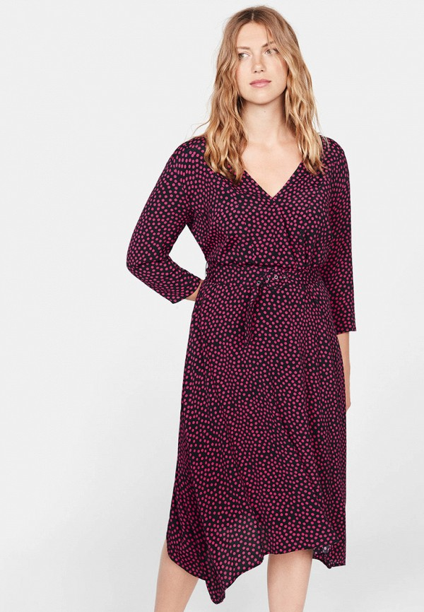 женское повседневные платье violeta by mango, розовое
