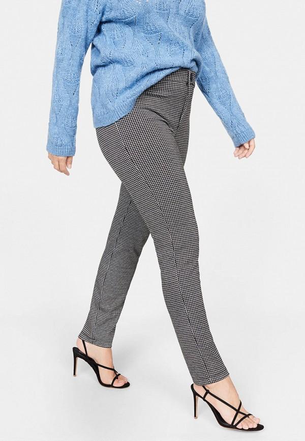 женские повседневные брюки violeta by mango, серые