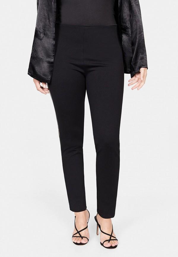 женские повседневные брюки violeta by mango, черные